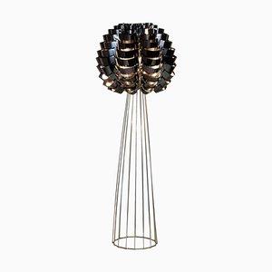 Lámpara de pie Max Sauze en negro Orion
