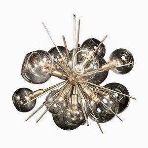 Translucid Blown Glass Pendant Lamp