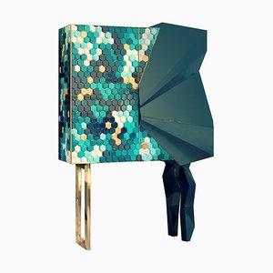 Mobiletto Honeycomb color smeraldo, Royal Stranger
