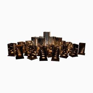 Original 20 Kerzenständer Set, Kaleido, Arturo Erbsman