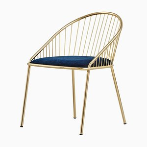 Agora Gold Chair von Pepe Albargues