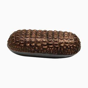 Box, Aschenbecher aus Dunkler Bronze