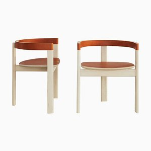 Set of 2 Gibbous Chairs by Jude Heslin Di Leo