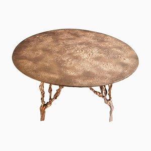 Polished Bronze Table