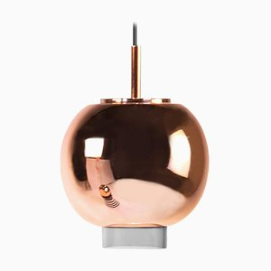Ceramic and Copper Pendant Light by Eric Willemart