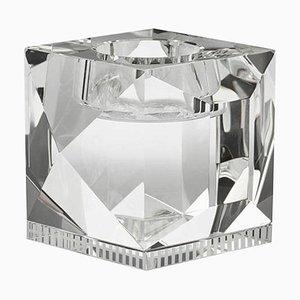 Porte-lampe Ophélia en Cristal Clair T-Cristal Sculpté à la Main