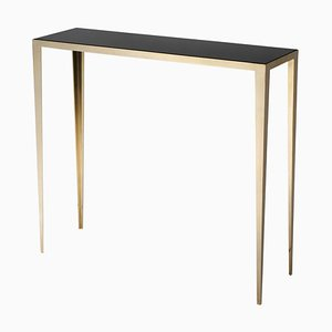 Brass Refined Console Signed by Lukasz Friedrich