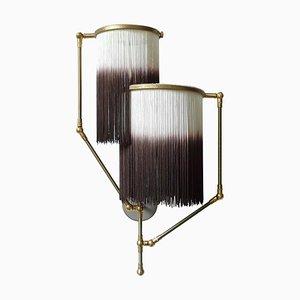 Braune Charme Wandlampe, Sander Bottinga