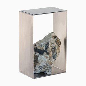 Stahl und Stein Beistelltisch von Batten und Kamp