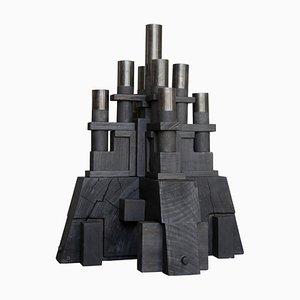 Bougeoir Sculptural par Christian Caulas