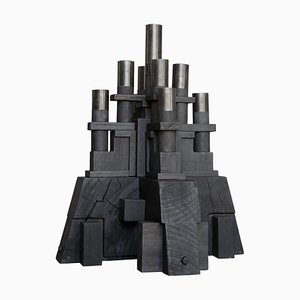 Skulpturaler Kerzenhalter von Christian Caulas