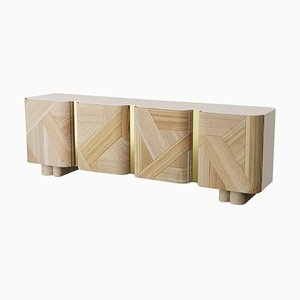 Sculpted Contemporary Sideboard by Dooq