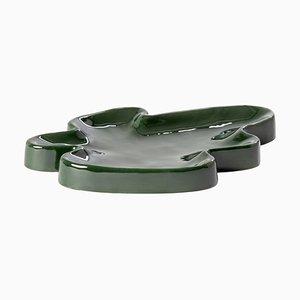 Große Lake Bowl 5403EM in Smaragdgrün von Ferréol Babin für Pulpo
