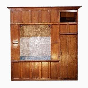 Antique Dutch Wooden Bed Box