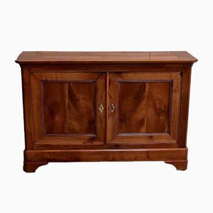 Antique Solid Blond Cherrywood Buffet