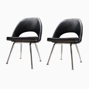 Chaises Series 71 par Eero Saarinen pour Knoll Inc. / Knoll International, 1950s, Set de 2