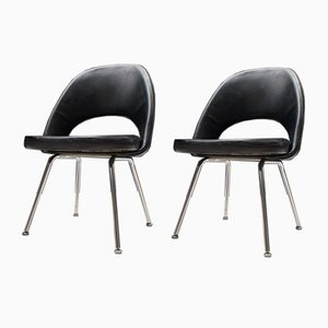 Sedie serie 71 di Eero Saarinen per Knoll Inc. / Knoll International, anni '50, set di 2