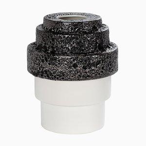 Maket Vase 5301W in Schwarz & Weiß von RSW für Pulpo