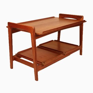 Scandinavian Teak Mahjongg Coffee Table from Samcom, 1960s