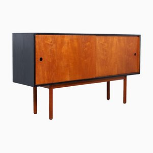 Black and Pinewood Sideboard from Theo Arts, 1950s