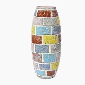 Italienische Mid-Century Vase aus Backstein von Fratelli Fanciullacci