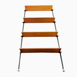 Mid-Century Telescopic Wooden Shelf