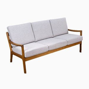 Teak 3-Seater Senator Sofa by Ole Wanscher for Cado, 1960s