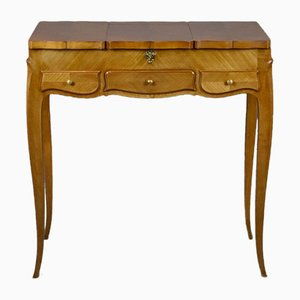 Louis XV Style Cherry Wood Dressing Table, 1950s