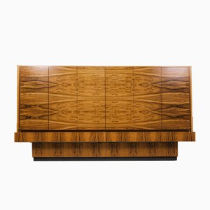 Large Vintage Rosewood Highboard, 1960s