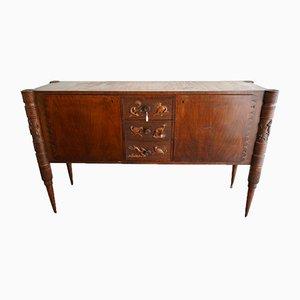 Mid-Century Italian Wooden Sideboard by Pier Luigi Colli for La Permanente Mobili Cantù, 1950s