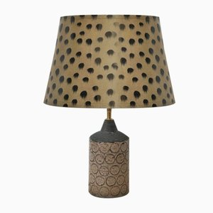 Vintage Ceramic Table Lamp from Bo Borgström, 1960s