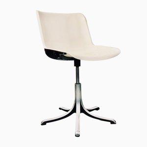 Sedia da scrivania Modus vintage di Osvaldo Borsani per Tecno