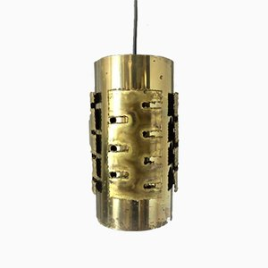Brutalist Ceiling Lamp by Svend Aage Holm Sørensen for Holm Sørensen & Co. , 1960s