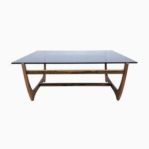 Rosewood Arabesk Coffee Table by Nils Ward for Fabrikens Ritkontor, 1960s