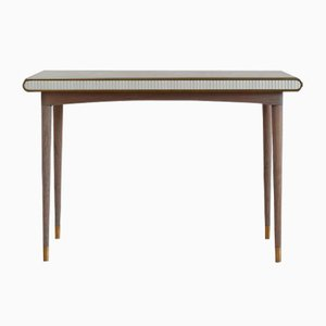 Gaia Console Table Grey Oak by Felice James