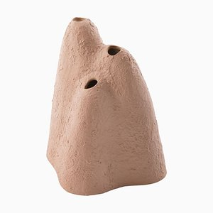Large Mountain Vase 5401TER in Terracotta by Ferréol Babin for Pulpo