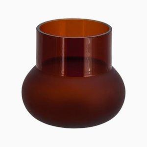 Potpourri Glass 05 6700GL2 in Dark Amber by Meike Harde for Pulpo