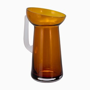 Potpourri Carafe 04 6900CAR in Dark Amber & Transparent by Meike Harde for Pulpo