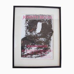 Kunsthalle Bielefeld Ausstellungsposter von Joseph Beuys, 1980er