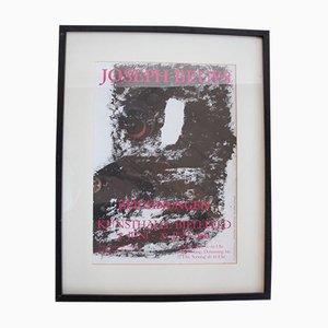 Kunsthalle Bielefeld Exhibition Poster by Joseph Beuys, 1980s