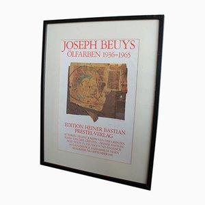 Poster di Joseph Beuys per Prestel-Verlag, 1979