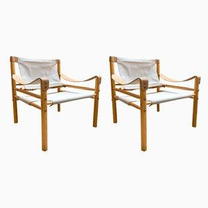 Scirocco Armlehnstühle von Arne Norell AB, 1960er, Set of 2