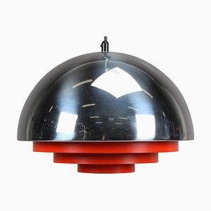 Lampe à Suspension Milieu Vintage par Johannes Hammerborg pour Fog & Mørup, Danemark