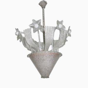 Lámpara de araña de cristal de Murano, 1940