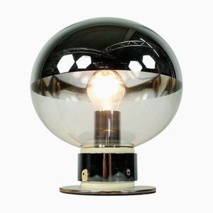 Vintage Chrome Model 1381 Table Lamp by Motoko Ishii for Staff, 1970s