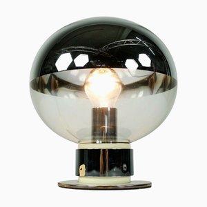 Vintage Modell 1381 Tischlampe aus Chrom von Motoko Ishii für Staff, 1970er