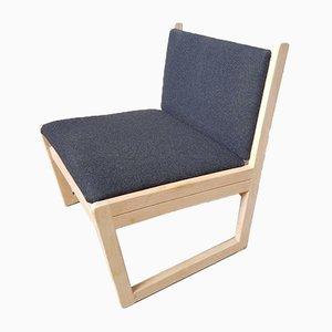 Mid-Century Danish Wool Chair from Kvetny & Sønners Stolefabrik