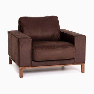 Dunkelbrauner Sessel von Musterring