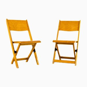 Scandinavian Foldable Chairs, 1960s, Set of 6