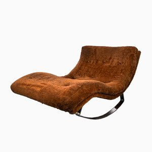 Chaise longue modello 1264 Wave di Adrian Pearsall per Craft Associates, anni '60